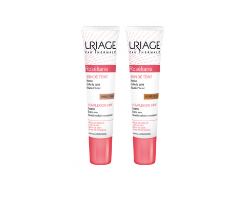 Uriage Roseliane maquillaje doré piel sensible 15ml