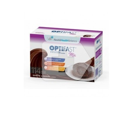 Optifast Mix souffle choco 7 sobres
