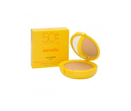 Sensilis Sun Secret maquillaje compacto SPF50+ N01 natural 10g