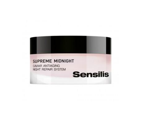 Sensilis Crème de Nuit Détoxifiant Renouvellement Suprême 50ml