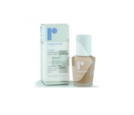 Repavar Oilfree maquillaje fluido piel morena 35ml