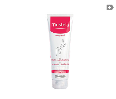 Mustela gel piernas ligeras 125ml