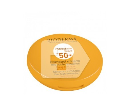 Bioderma photoderm Max SPF50+ maquillaje compacto claro 10g