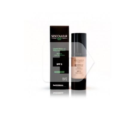 Sesderma Sescouleur Acnises Young maquillaje fluido SPF5+ tono doré 30ml