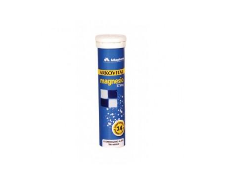 Arkovital magnesio 375mg 14comp efervescentes