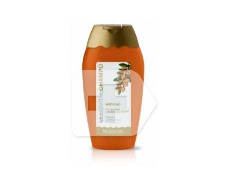 Mussvital shampooing nourrissant à la kératine et à l'huile d'argan 300ml