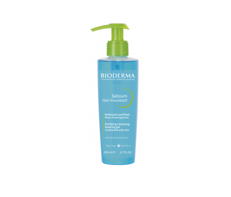 Bioderma Sébium gel moussant dispensador 200ml
