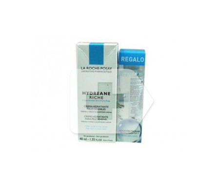 La Roche-Posay Hydreane Ligera crema 40ml + solución micelar 50ml