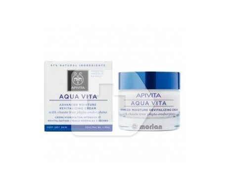 Apivita Aqua Vita crema hidratante piel muy seca 50ml