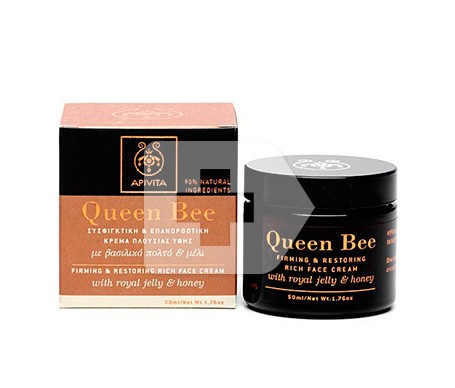 Apivita Queen Bee crema rica facial reafirmante y reparadora 50ml