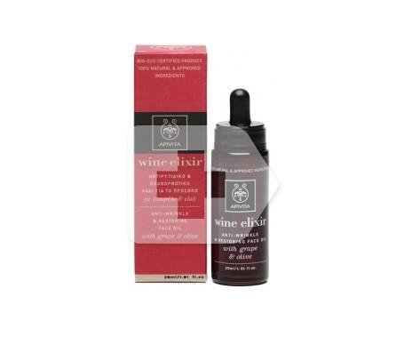 Apivita Wine Elixir aceite facial antiarrugas 30ml