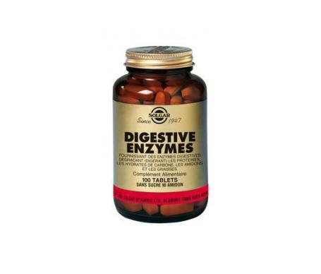 Solgar enzimas digestivas 100comp