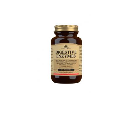 Solgar enzimas digestivas 250comp