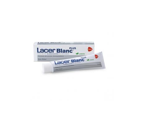 Lacer™ Blanc Plus dentifrice blanchissant à la menthe 75ml