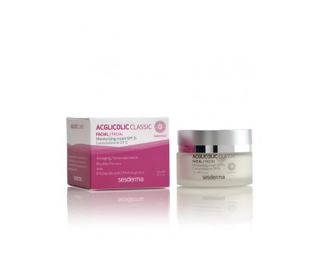 Sesderma Acglicolic Classic moisturising cream SPF15+ 50ml