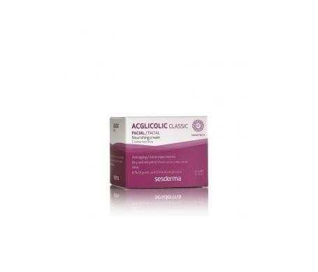 Sesderma Acglicolic Classic crème nutritive 50ml