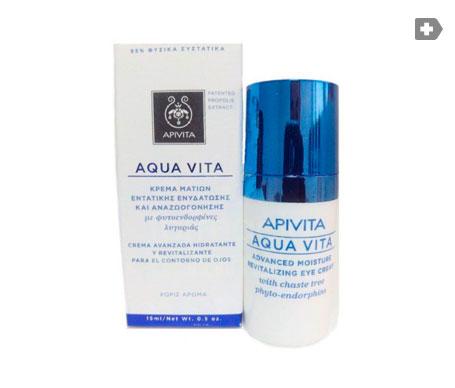 Apivita Aqua Vita crema contorno de ojos 15ml