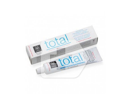 Apivita crema dental total hierbabuena 75ml