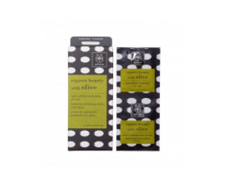 Apivita Express Beauty crema exfoliante intensiva oliva 2udsx8ml
