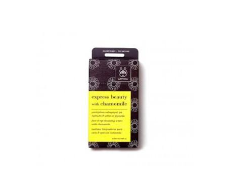 Apivita Express Beauty toallitas limpiadoras 6uds