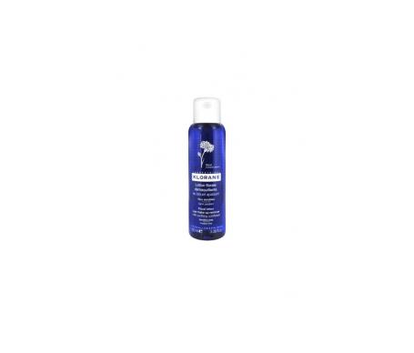 Klorane calmante detergente make-up rimozione fiordaliso lozione 100ml