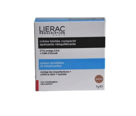 Lierac prescription compacto de crema Doree 9g