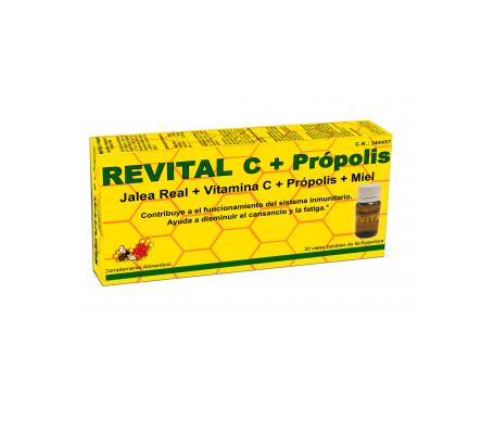 Revital C 20 drinkable ampoules