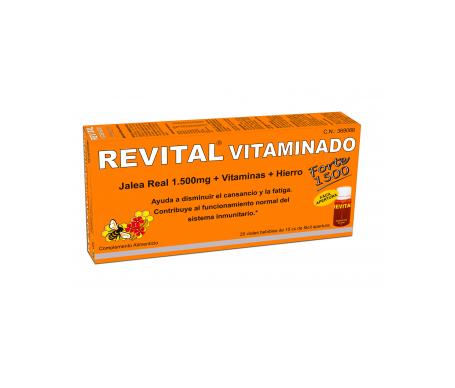 Revital Vitaminado Fuerte 10amp bebibles