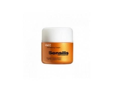 Sensilis Vital C crema revitalizante SPF15+ 50ml