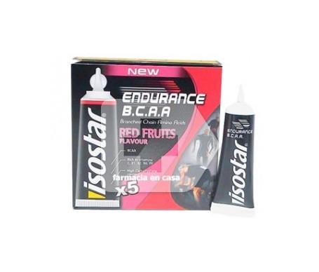 Isostar Endurance B.C.A.A frutas rojas  5 viales
