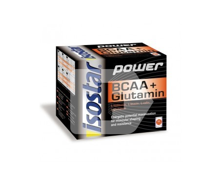 Isostar Power BCAA + glutamine 80cáps