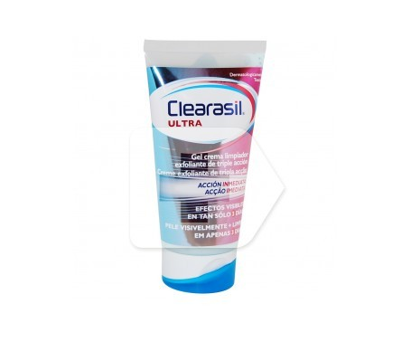 Clearasil® ultra crema limpiadora exfoliante 150ml