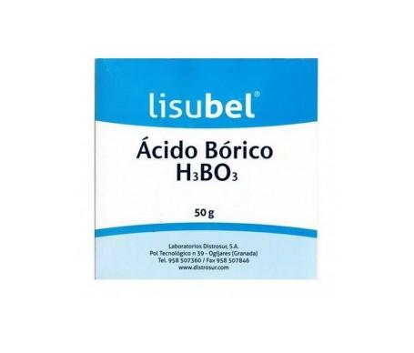 Lisubel ácido bórico 50g