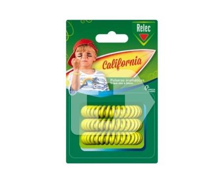 Relec California pulseras aromáticas mosquitos 3uds