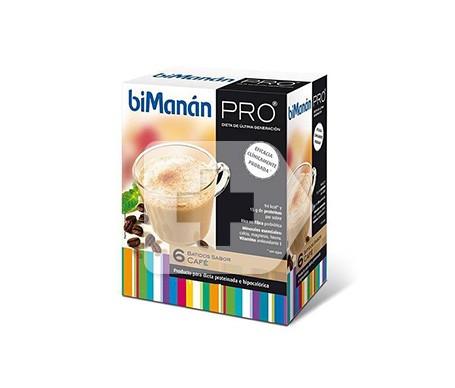 biManán® Pro batido de café 6 sobres