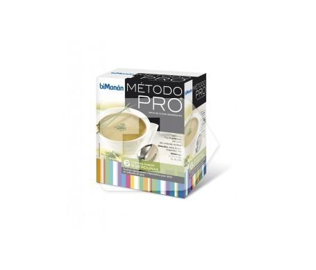 biManán® Pro crema 9 verduras 6 sobres