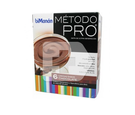 biManán® Pro crema chocolate 6 sobres