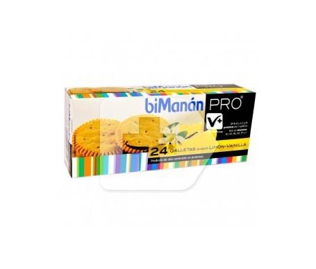 biManán® Pro galletas limón y vainilla 156g