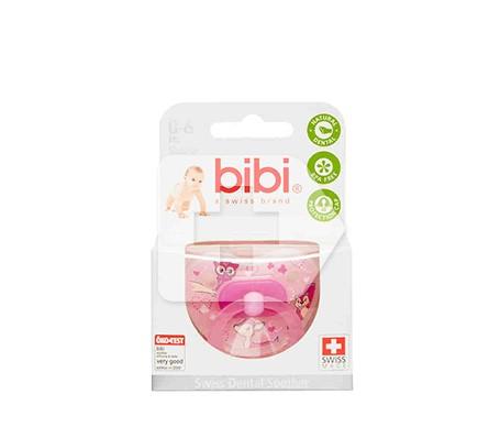Bibi chupete animalitos silicona 0-6 meses 1ud