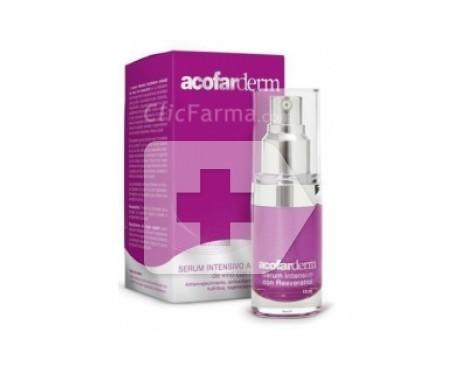 Acofarderm intensive anti-ageing serum with Resveratrol 15ml