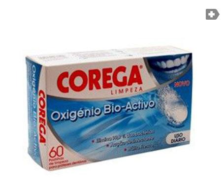 Corega® Oxígeno Bio-Activo 66 tabletas efervescentes