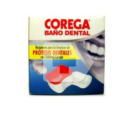 Corega® recipiente baño dental