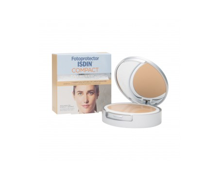 Isdin® Fotoprotector Compact arena oil-free SPF50+ 10g
