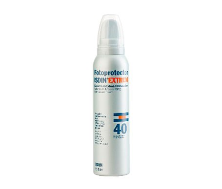 Fotoprotector ISDIN® Extrem espuma SPF40+150ml