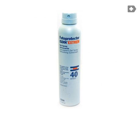 Fotoprotector ISDIN® Extrem gel spray refrescante SPF40+200ml