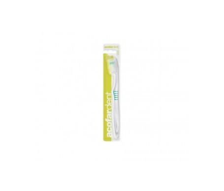Acofardent brosse à dents adulte anti-plaque soft 1pc