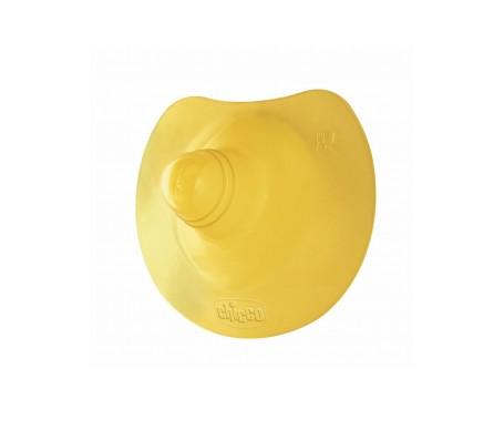 Chicco® pezonera caucho T-G 2uds