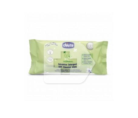 Chicco® Baby Moments toallitas limpiadoras 16uds