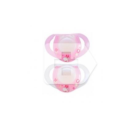 Chicco® chupete caucho gota 6 M+ rosa 2ud