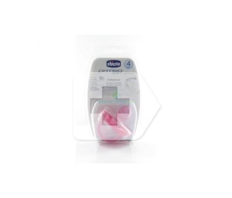 Chupete silicona Chicco® physio anatómico 0 M+ rosa